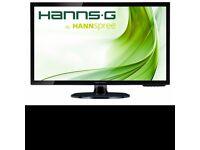 "27"" Hannspree HL273 LED monitor *used* - takes VGA/DVA/HDMI"