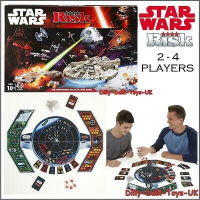 Star Wars Risk Ltd Edition Board Game Galactic Empire V Rebel Dice Card RARE NEW