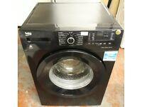 beko 8kg washing machine in black colour