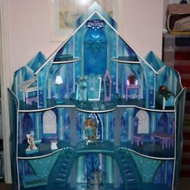 Disney Frozen large doll's house including all furniture.