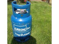 7kg Calor butane bottle full