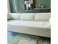 MADE Kiva 3 seater sofa in Gail gray