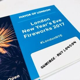 BEST AREA BLUE London Fireworks 31st Night Tickets | New Years Eve 31st London