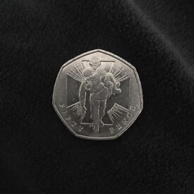 Rare 50p 2006 Wounded Soldier