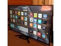 "Luxor 40"" Smart Slimline Freeview HD, Delivery"