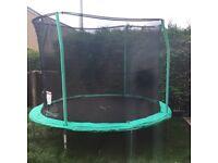 10ft trampoline 4 months old