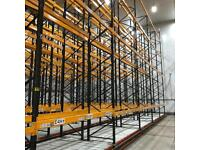 Heavy Duty Link 51 Pallet Racking/Warehouse Shelving.  Over 300x Bays Available 