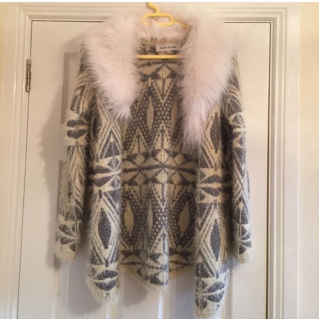River Island Cardigan Coat Never Worn
