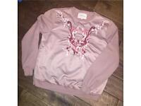 Ladies River Island sweatshirt. Size M. £20