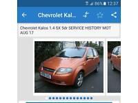 Chevrolet Kalos 1.4 SE £650