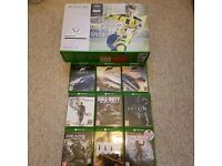 Xbox one S with 9 games and 500gb external harddrive