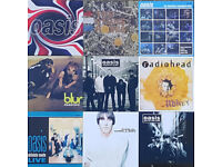 A Rather Nice collection of Brand New Oasis, Blur, Paul Weller, RadioHead Records
