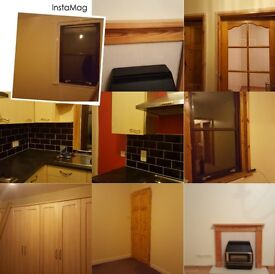2 bed lower 4 in a block in quiet residential area GCH, DSS considered with direct payment