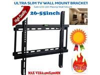 ULTRA SLIM TV WALL MOUNT BRACKET