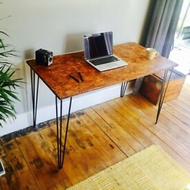 New Handmade Vintage, Industrial, Hairpin Desks - 3-5 Day UK Wide Delivery, Customisation Available