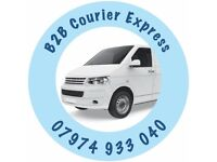 Courier Express for Business users. Door to Door service in new van with 1 tonne payload