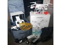 DJI Phantom Drone with extras