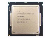Gaming computer parts, Intel core i5 skylake and nvidia graphics.