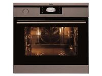 Amica Stainless Steel Built-in CombiSteam Electric Single Oven 1143.3TPX