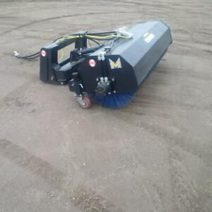Skid Steer Rotary Sweeper --- Brand New --- Sale Priced --- Warranty --- Free Delivery