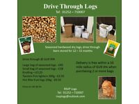Bags of Seasoned, Dried LOGS delivery or collection