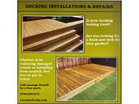 Decking Installation and Repairs
