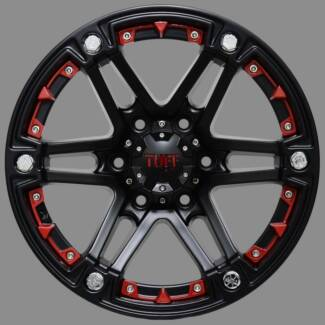 18'' TUFF T01 Alloy wheels to suit some 4WDS Toowoomba 4350 Toowoomba City Preview