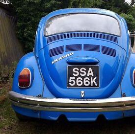 VW 1971 classic beetle 1300 tax free classic volkswagen
