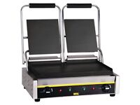 Buffalo GJ456 Bistro Contact Grill HARDLY USED RESTAURANT LIQUIDATION ! Bargain RRP £262