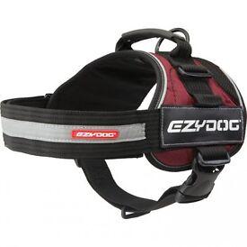 Ezydog Convert Harness BLACK/BROWN/BURGUNDY - SIZE LARGE