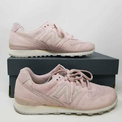 New Balance Womens Running Shoes Faded Rose Pink Low Top Lace Up WL696WPP 7.5 -