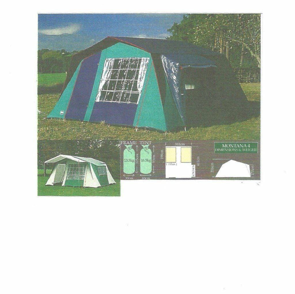Litchfield Montana 4 Frame Tent with Sun Canopy  sc 1 st  Gumtree & Litchfield Montana 4 Frame Tent with Sun Canopy | in Lee-on-the ...