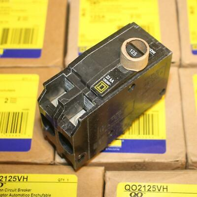 One New Square D Qo2125vh 2p 125 Amp Circuit Breaker Qo2125 22kaic More Avail