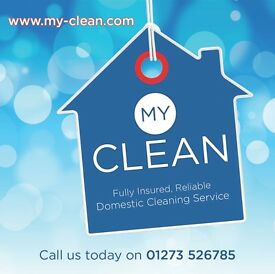 Cleaners Required. £9 ph. Fast Growing, Friendly, Domestic Cleaning Company
