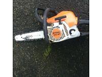 Stihl chainsaw grass strimmer hedge trimmer