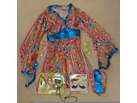 60s dressing up dress and accessories