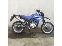YAMAHA XT125 BLUE 2005