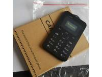 Simple phone any network takes iPhone or Samsung nano sim card