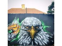 Airbrush/graffiti/digital artist for bespoke murals ,canvases ,workshops and more.Get in touch !