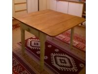 Lovely Shabby Chic antique pine kitchen table