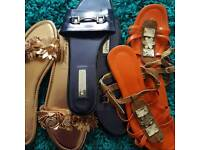 Lovly sandals. All sz 7