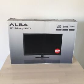 ALBA 24'' HD Ready LED TV and DVD combi