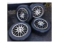 Calibre Motion Alloy wheels and tyres like brand new