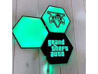 """Gamer Room RGB LED """"Nano Leaf style"""""""