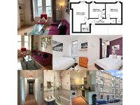 Cosy city centre furnished 2-bedroom flat to rent, no agency fees (from 04/03/21)