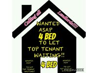 WANTED 4 BEDROOM HOUSE TEESIDE