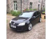 VW GOLF GT TDI 2006, 170 BHP BLACK LOOK!!!
