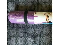 NEW Yoga Mat - USA Pro, purple, 4mm