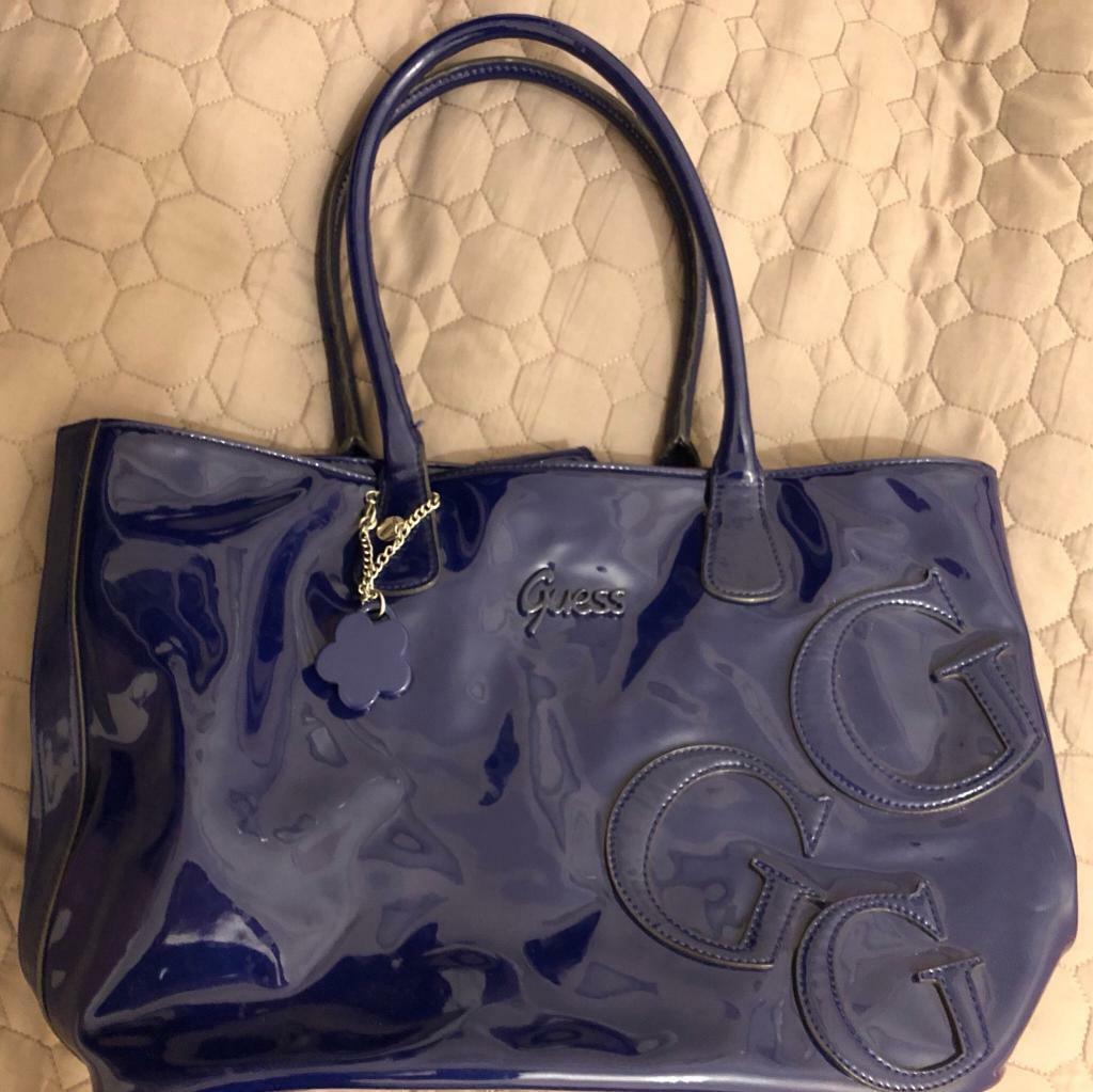 49eaa37f0e94 Guess Tote handbag navy