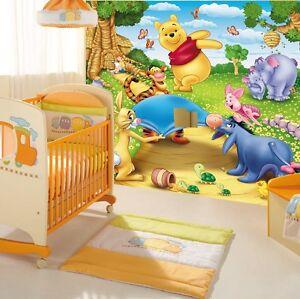 Fototapete winnie pooh jetzt online bei ebay entdecken ebay for Winnie pooh kinderzimmer